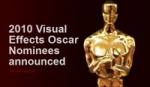 2010 Visual Effects Oscar Nominees announced